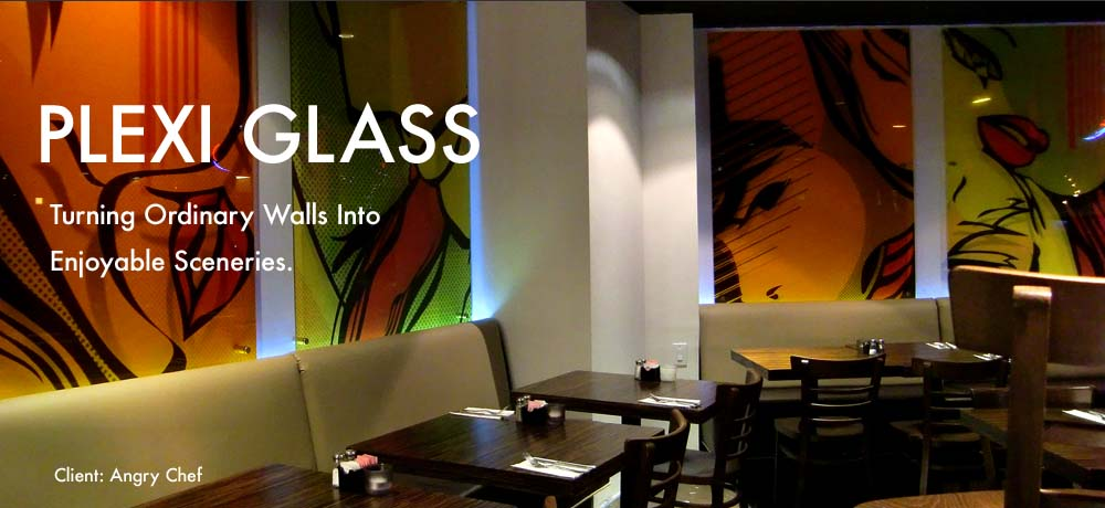 Plexi Glass Decor